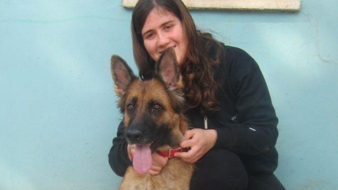 עדי גוט והכלבה ננסי