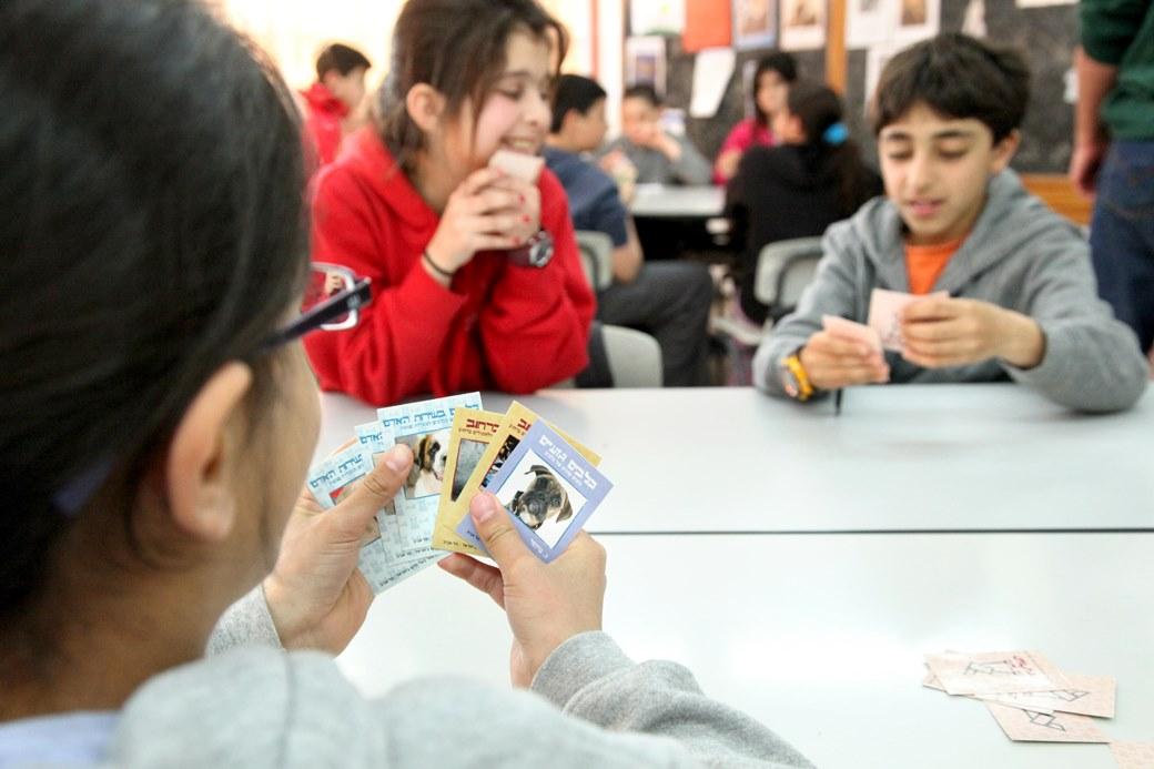 """פעילות חינוכית בבית ספר ע""""ש אופירה נבון בכפר סבא"""