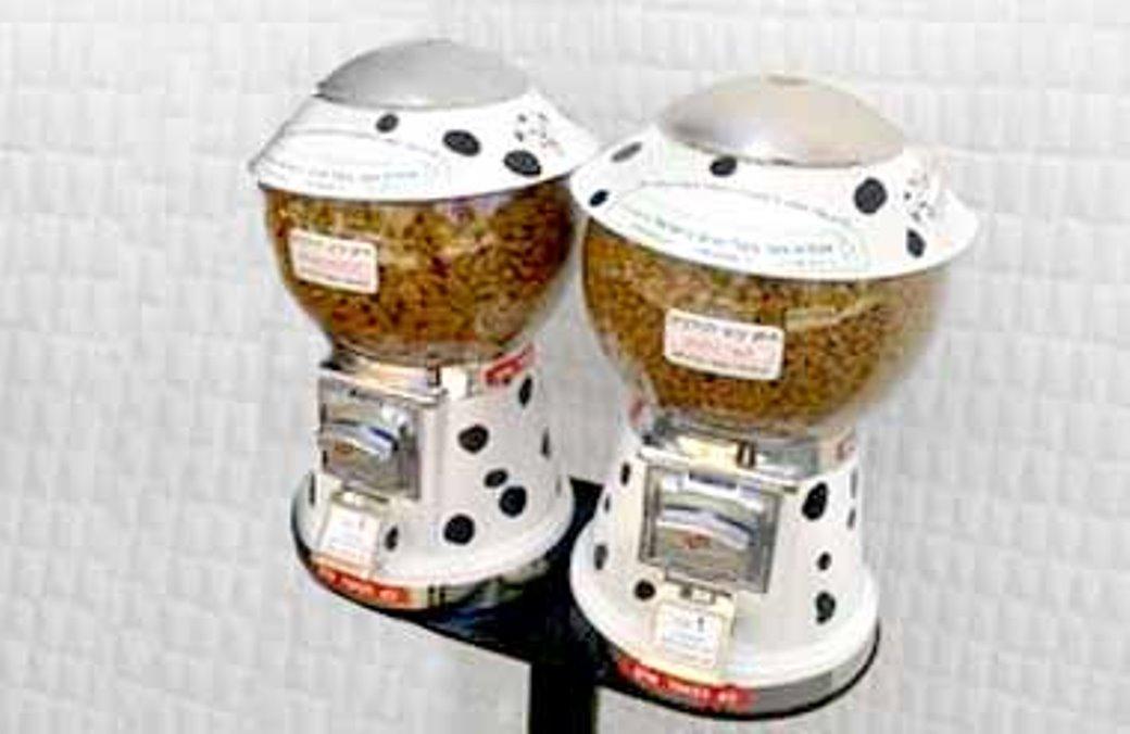 מכונות אוטומטיות לממכר חטיפים לכלבים