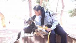 שוטרת וכלבה - אגודת צער בעלי חיים בישראל