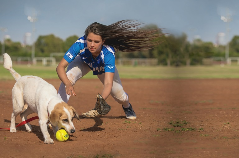 הכלבה אנג'ל ועדי ברן - אגודת צער בעלי חיים בישראל