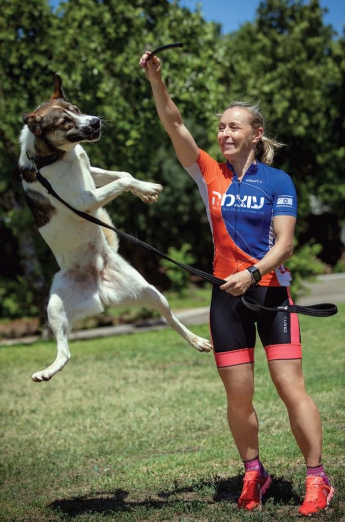 הכלב אוסקר ונינה פקרמן – אגודת צער בעלי חיים בישראל