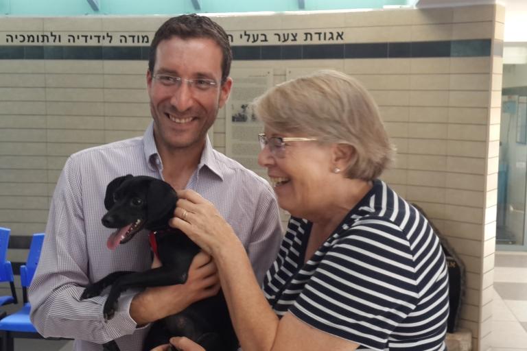 איציק שמולי - אגודת צער בעלי חיים בישראל