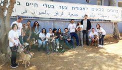 עובדי חברת סלינה - יום מעשים טובים - אגודת צער בעלי חיים בישראל