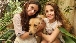 עלמה גרטי ונטע אלבק מכרו צמידים למען בעלי החיים - אגודת צער בעלי חיים בישראל - תמונה באדיבות המשפחה